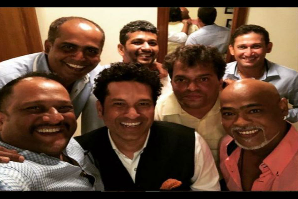 Friends for life! Sachin Tendulkar posts selfie with Vinod Kambli