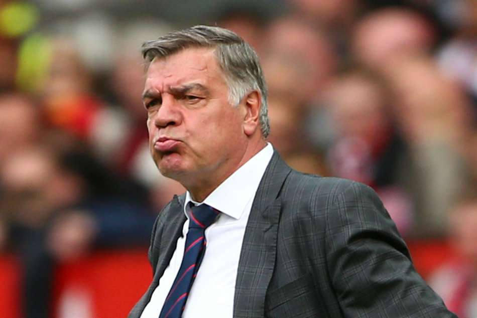 Sam Allardyce managed Crystal Palace last season