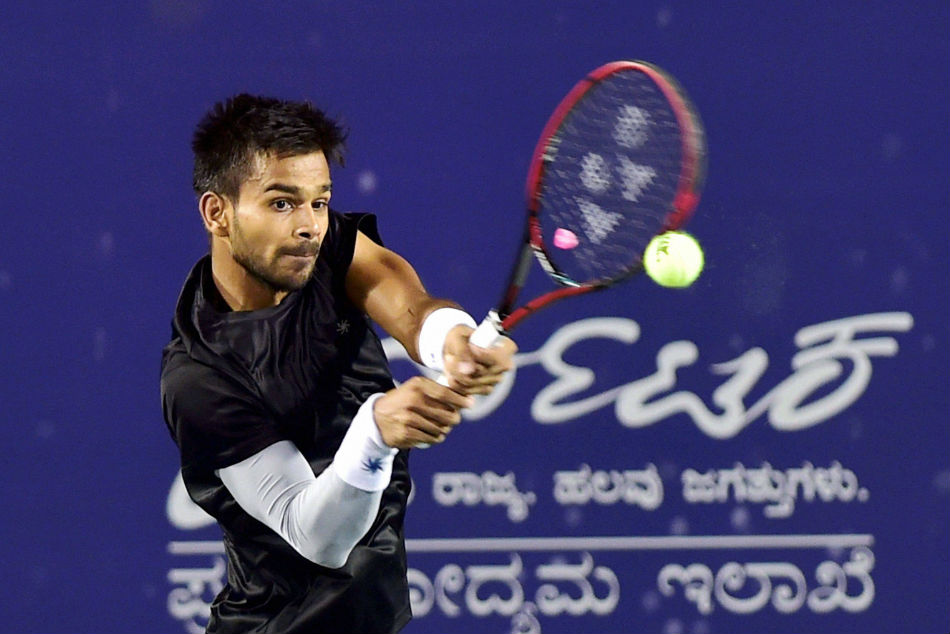 Bengaluru Open Sumit Nagal Ousts Top Seed Sets Up Semi Final Yuki Bhambri