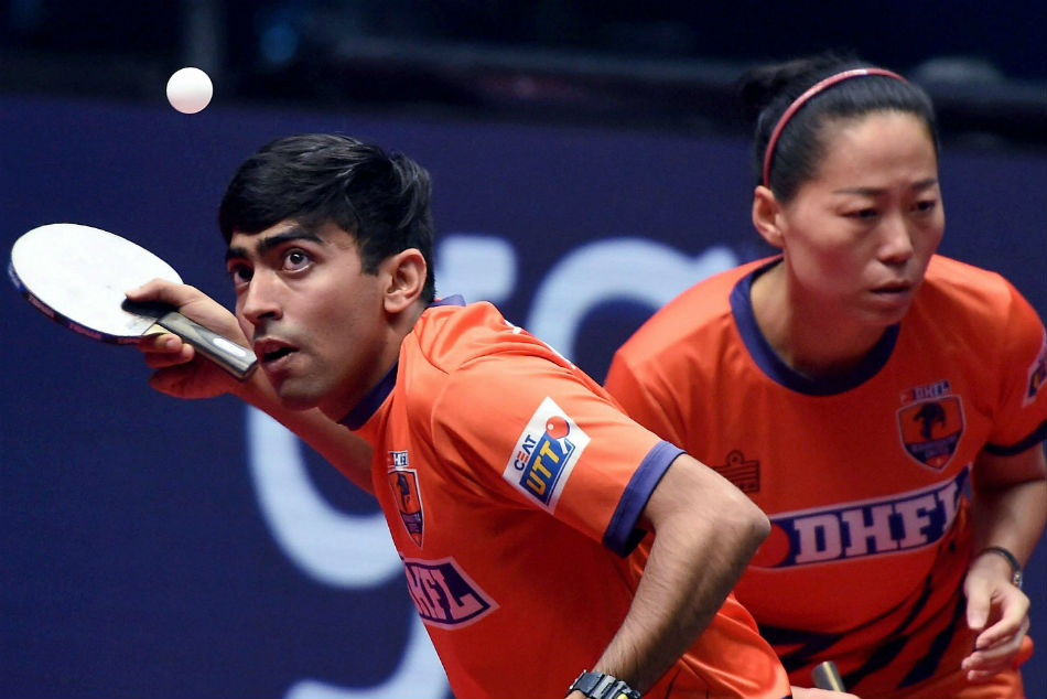 Country's sub-junior table tennis champion Munmun Kundu is fighting against all odds
