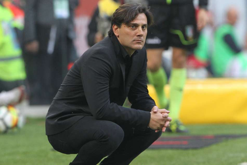 Vincenzo Montella's AC Milan have won only two of their last six Serie A games
