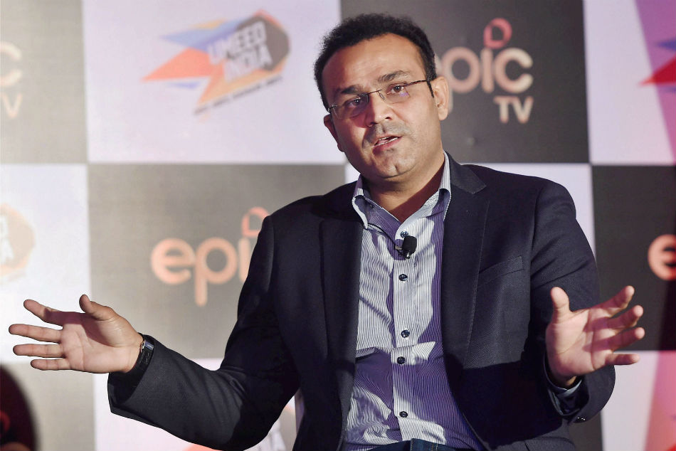 Virender Sehwag enquires if Ross Taylor is eligible for Aadhaar card, gets clean bowled by reply