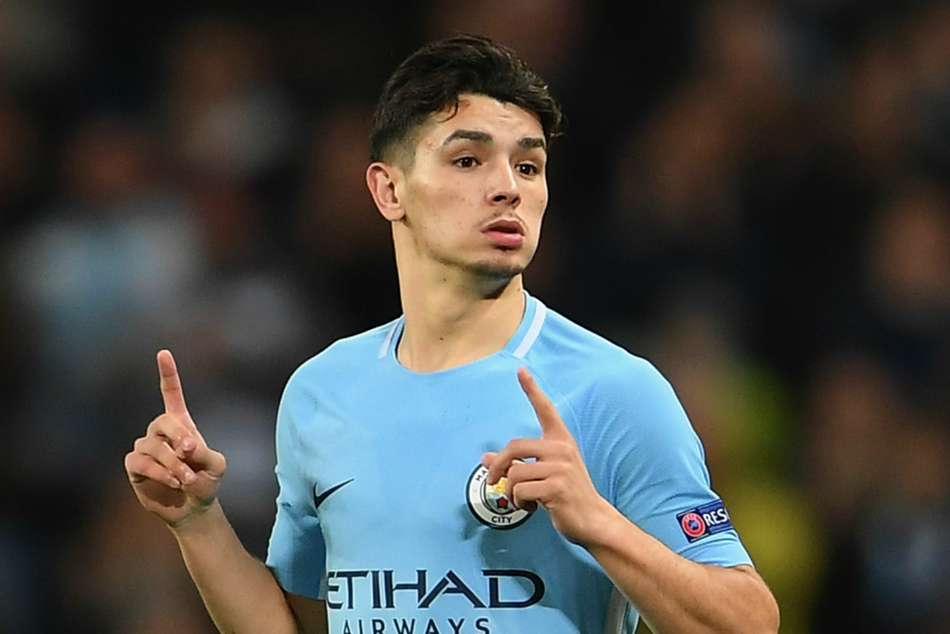 Manchester City startlet Brahim Diaz