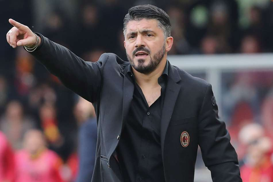 AC Milan boss Gennaro Gattuso faces defeat during first Europa League