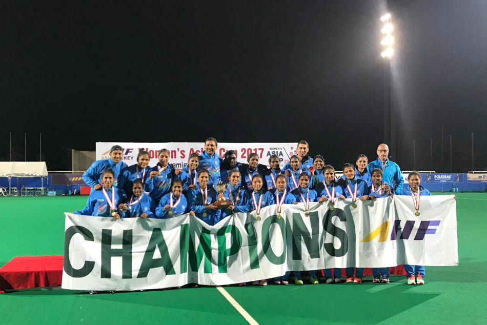 The Indian women's hockey team won the Asia Cup in Japan and earned a direct entry for the World Cup