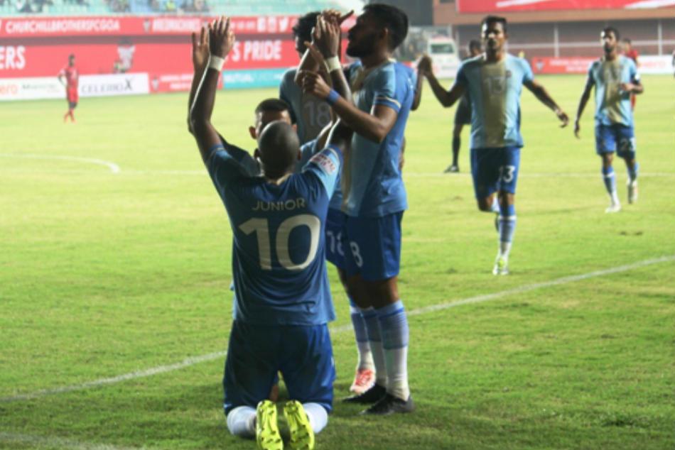 Chennai City Fc Blank Churchill Brothers First I League Win