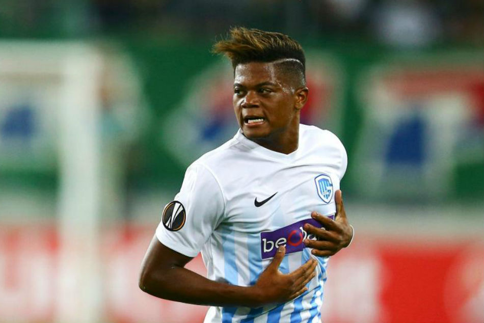 Bayer Leverkusen winger Leon Bailey