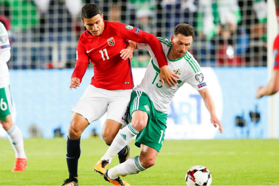 Norway and Basel winger Mohamed Elyounoussi (left) targeted by Southampton