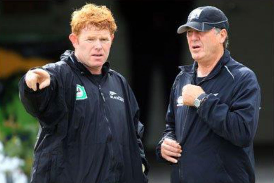 James Pamment (left) was the Northern Districts coach