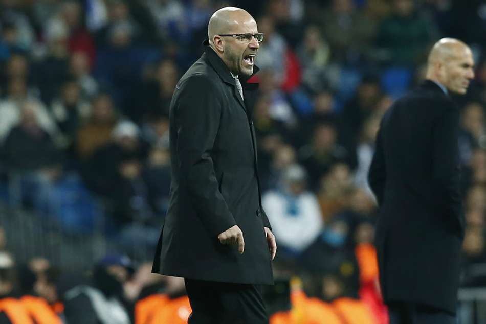 Borussia Dortmund coach Peter Bosz says Real Madrid are not favourites in Champions League