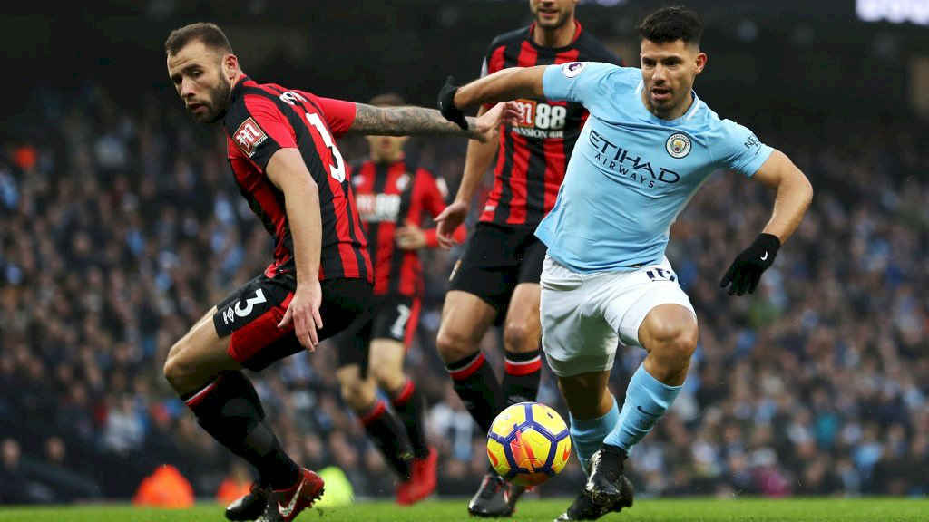 Epl Round Up Aguero Leads Manchester City Win Stoke Brighton Victorious