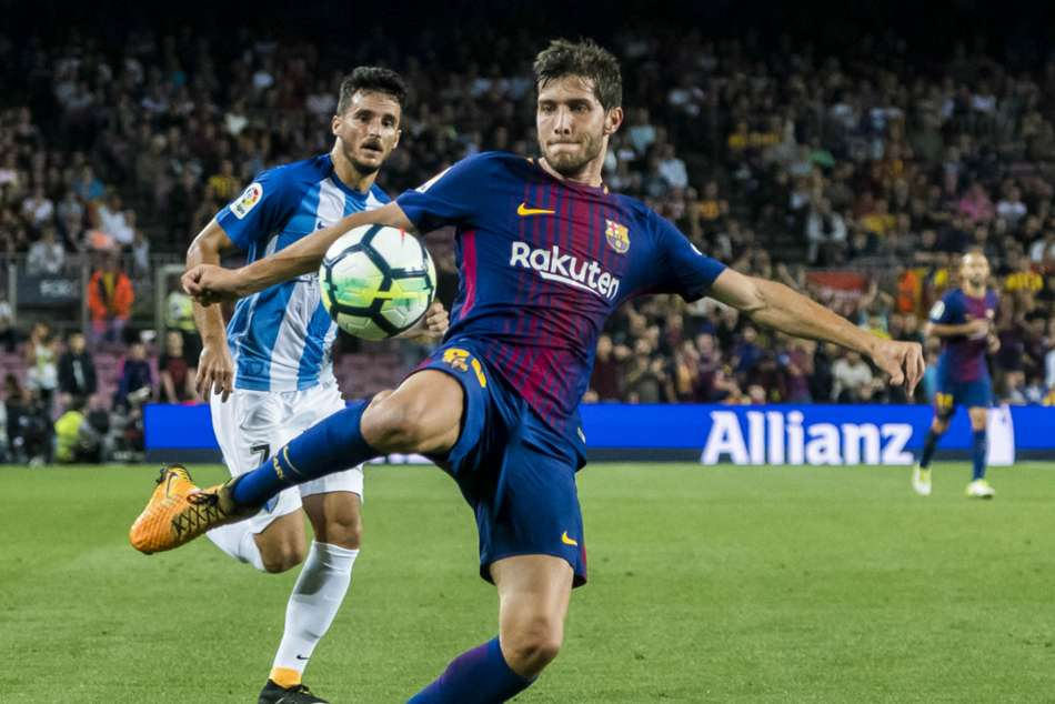 Sergi Roberto content with Barcelona