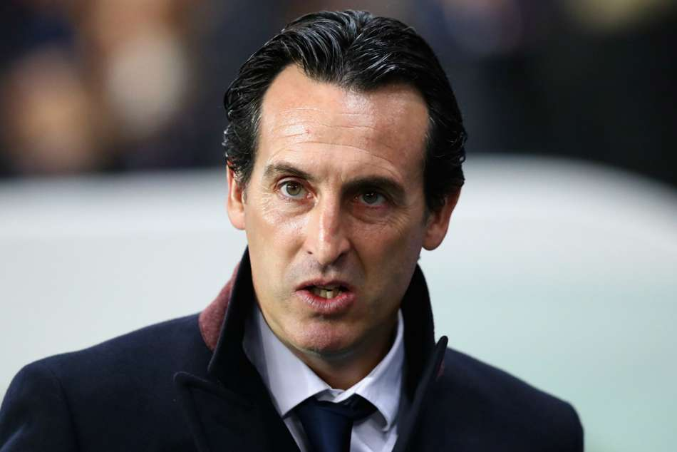PSG boss Unai Emery