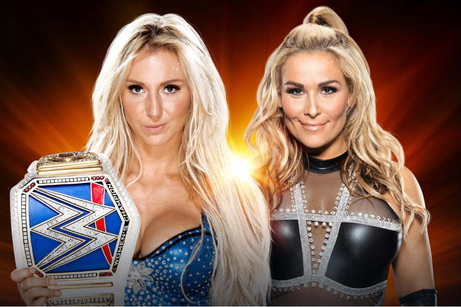 Charlotte Flair (left) vs Natalya (Image courtesy: WWE.com)