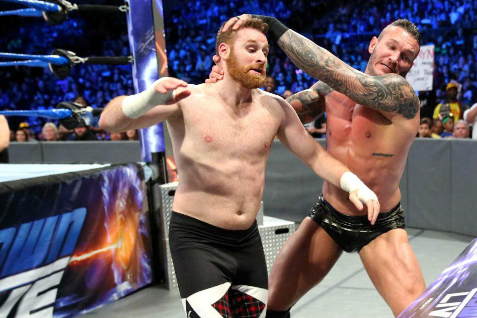 Sami Zayn (left) & Randy Orton (image courtesy WWE.com)