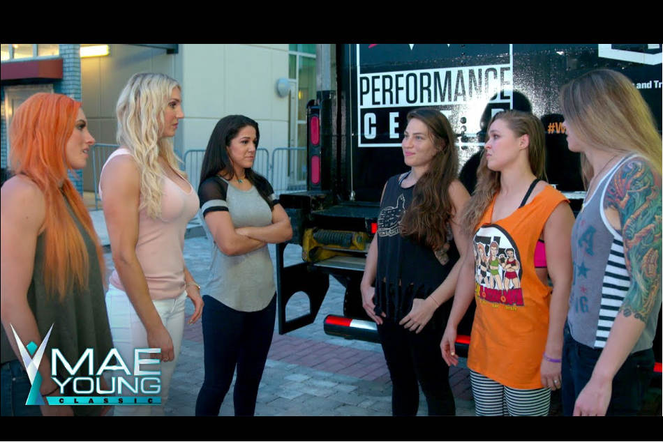 WWE (left) and the UFC four-horsewomen factions (Image courtesy: Youtube)