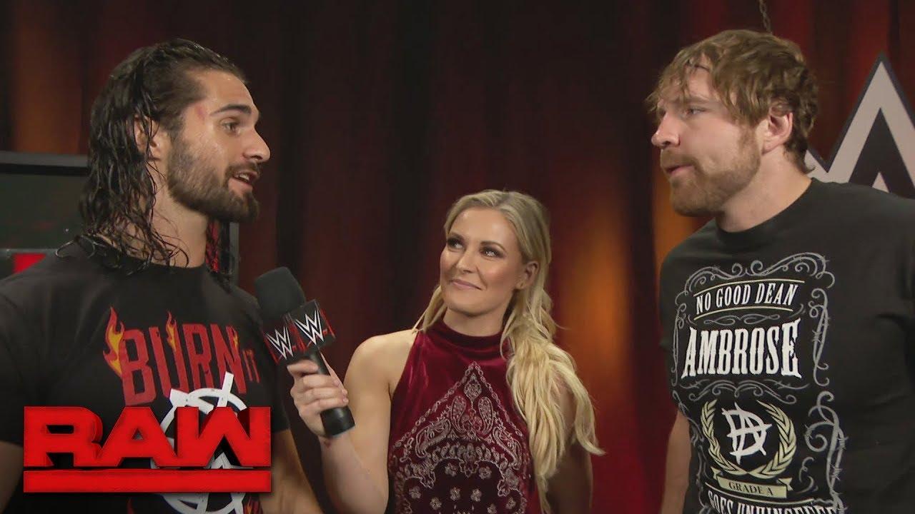 Alicia Fox And Dean Ambrose WWE Rumour: Dean Ambro...