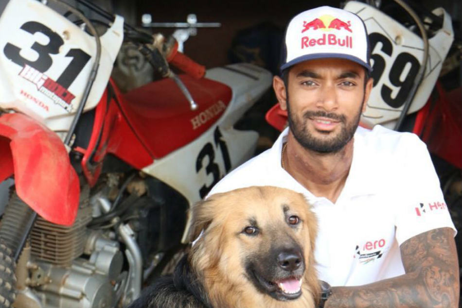 1st Dakar I Was Tourist Now I M Competitor Cs Santosh