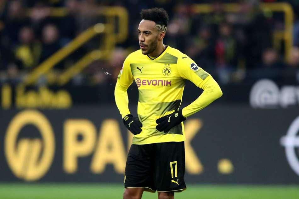 Borusia Dortmund Slam Arsene Wenger Pierre Emerick Aubameyang Pursuit Bundesliga