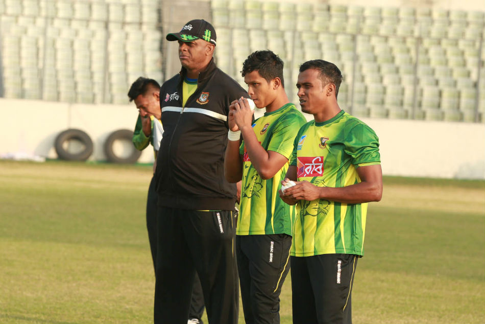 Bangladesh practice ahead of tri-nation tournament (Image Courtesy: BCB twitter)
