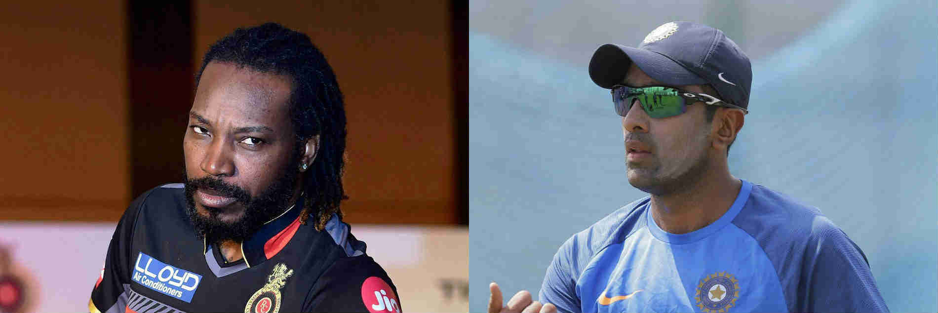Players Chris Gayle and R Ashwin can create a spark during IPL auction later this month