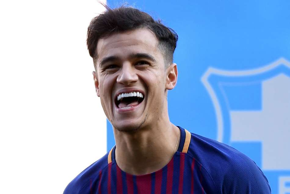 Philippe Coutinho's transfer from Liverpool to Barcelona is the second highest in football
