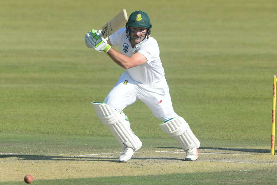 Dean Elgar South Africa India Second Test Centurion