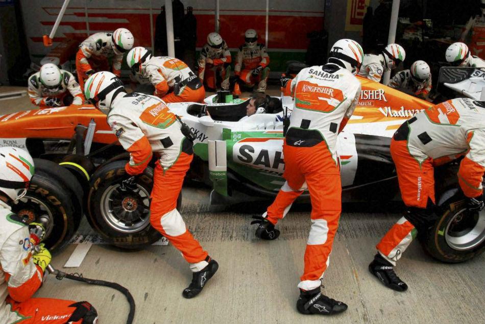 Force India Rename Team During Pre Season Tests
