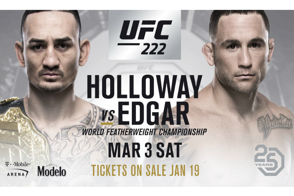 Max Holloway Vs Frankie Edgar