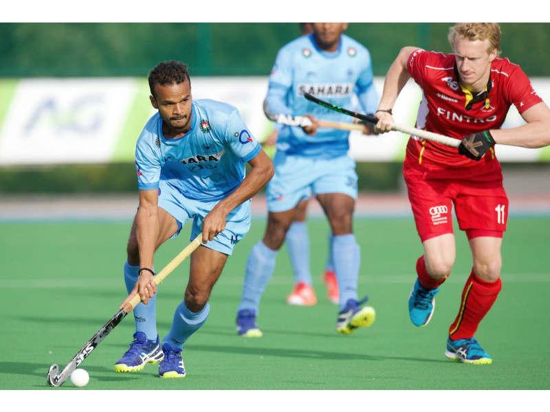 India Beat Belgium 5 4 In Four Nation Hockey