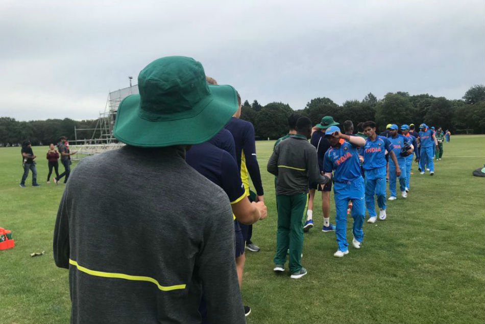 ICC U-19 WC: India thrash South Africa by 189 runs in warm-up match