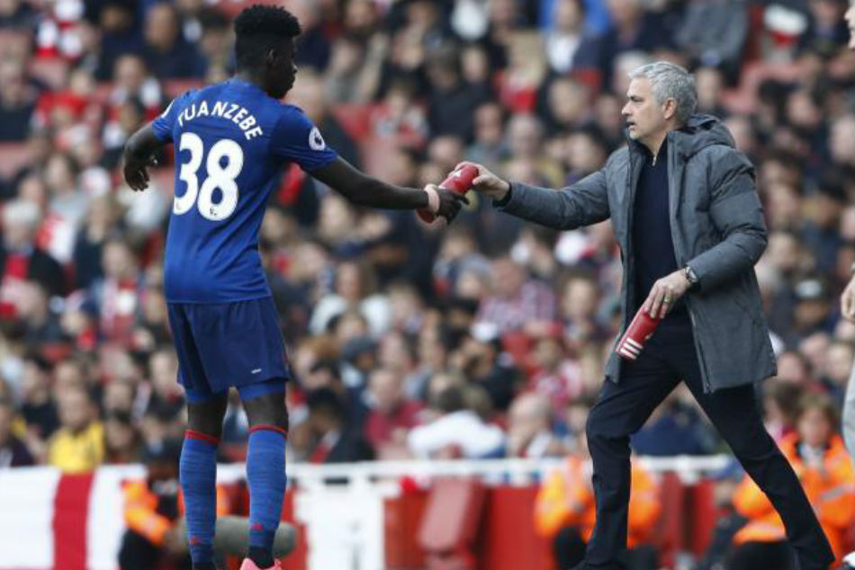 Jose Mourinho to decide on Axel Tuanzebe future during the end of January