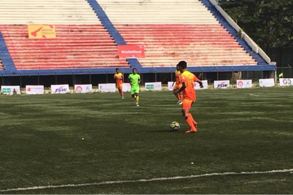 Santosh Trophy Karnataka Sneak 2 Past Puducherry