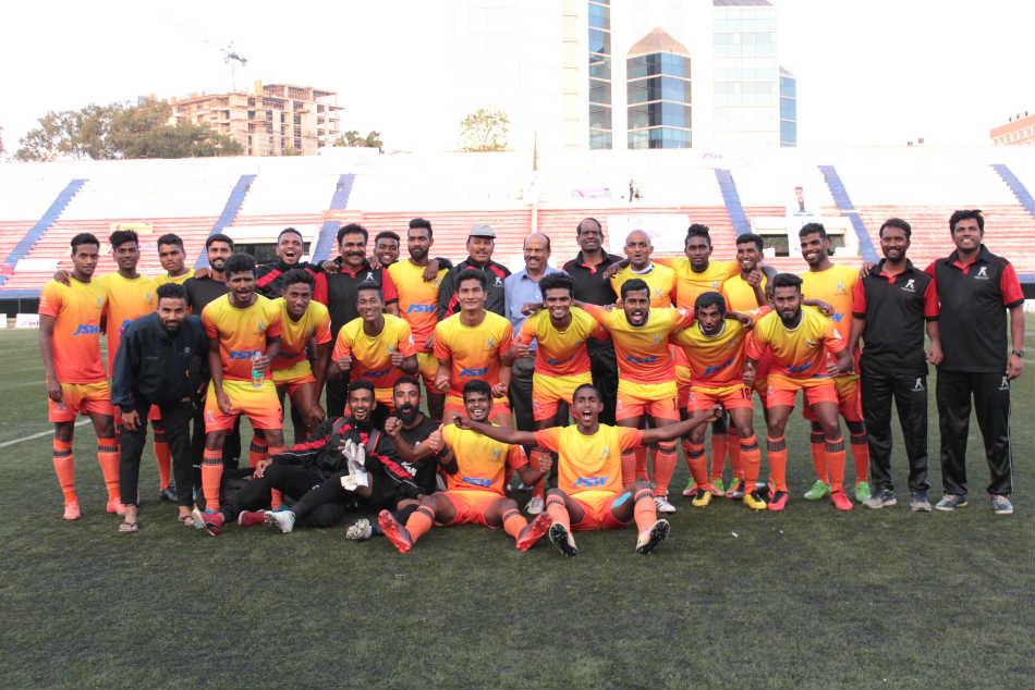Santosh Trophy Karnataka Enter National Round Services
