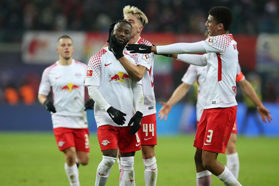 RB Leipzig midfielder Naby Keita (left) linked with early Liverpool move
