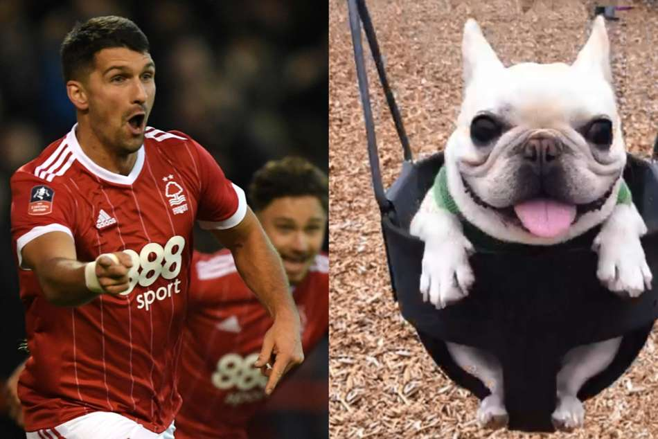 Forest's Eric Lichaj promised a dog for hattrick