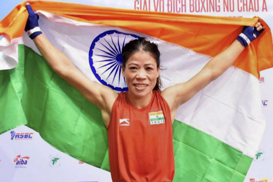 Boxing Shiva Thapa Absent Cwg Squad Mary Kom Included