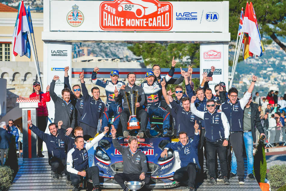 Ogier Begins Wrc Title Defence Style With Monaco Win