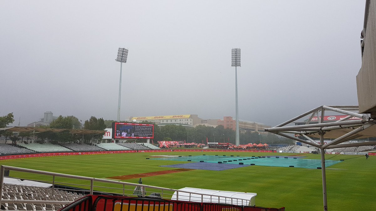 India Vs South Africa, 1st Test, Day 3: Rain washes out first session as visitors eye comeback