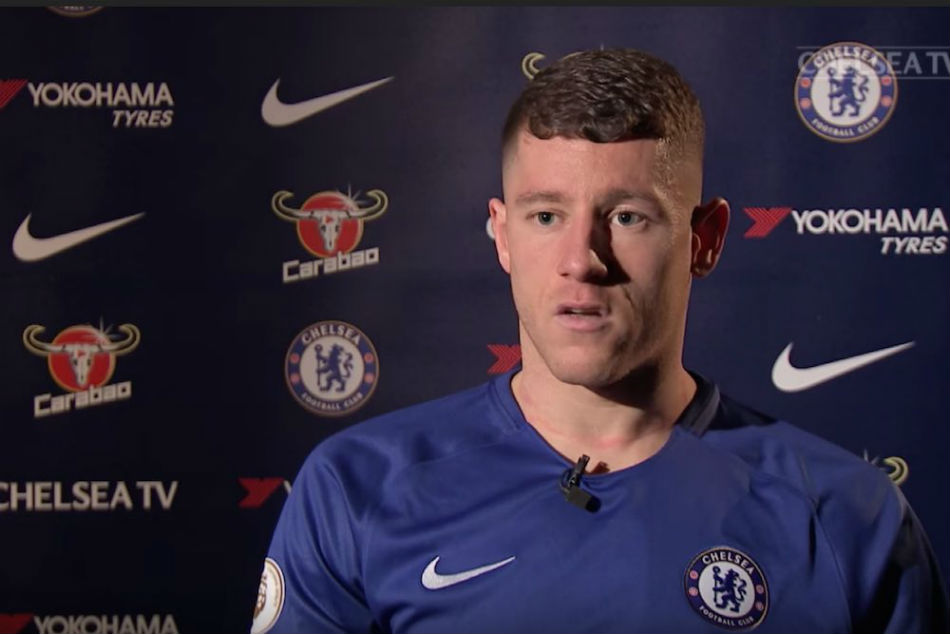 Chelsea midfielder Ross Barkley (Image Courtesy: Video Screenshot)