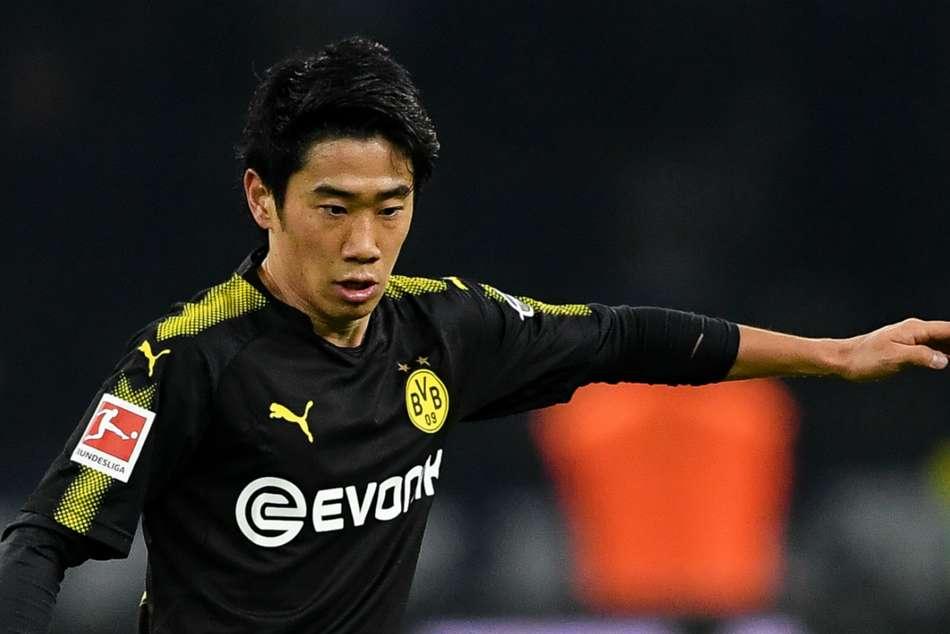 Hertha Berlin 1 Borussia Dortmund 1 Kagawa Equalises Aubame