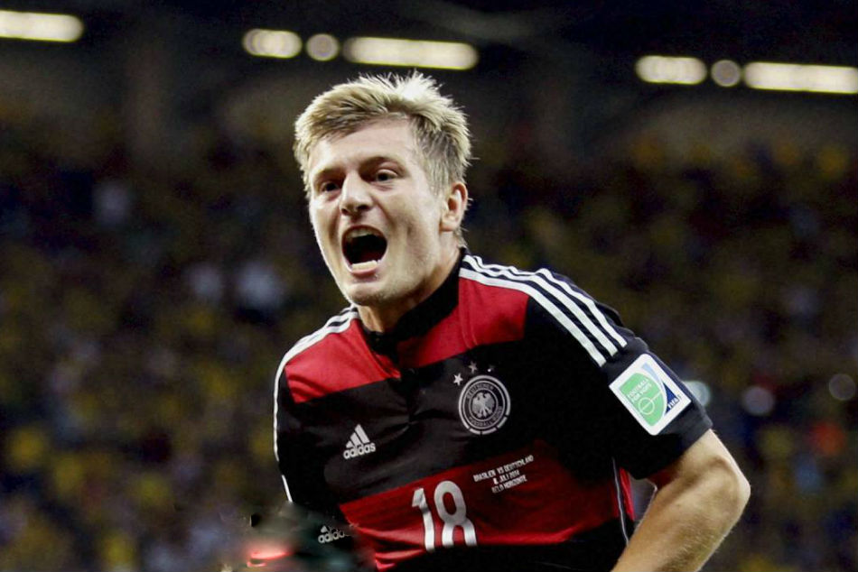 Germany and Real Madrid midfielder Toni Kroos
