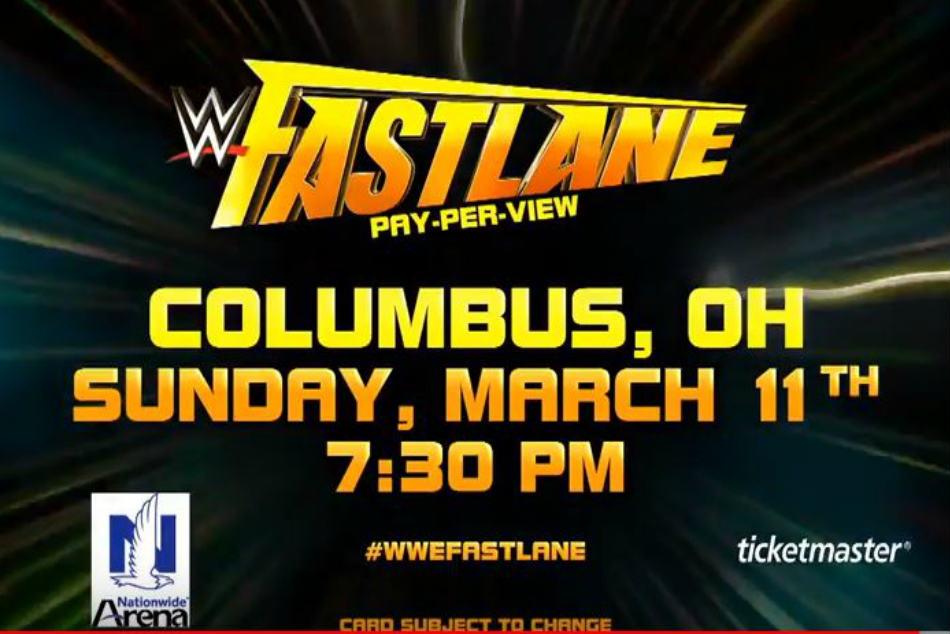 WWE Fastlane PPV main event match revealed - myKhel