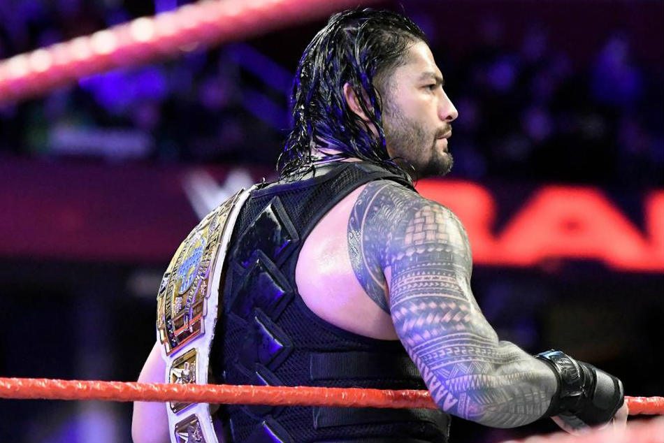 rumour roman reigns to lose intercontinental championship on raw 25