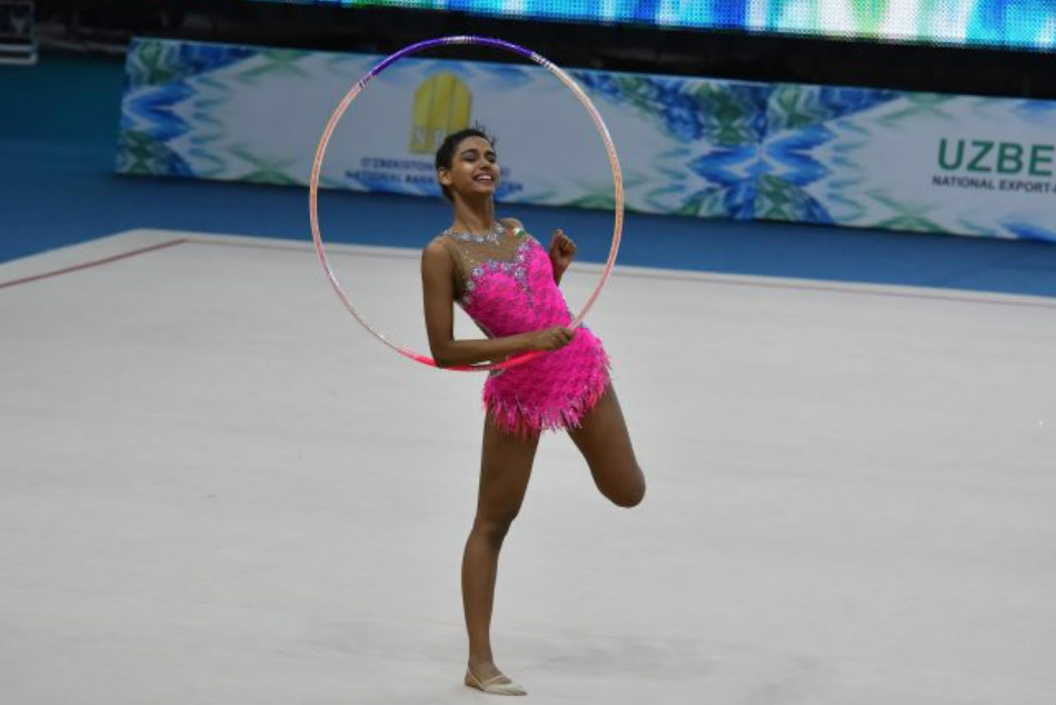 Meghna Reddy India S Exclusive Olympic Hope Gymnastics