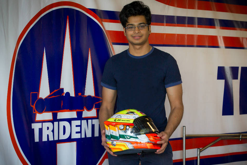 Arjun Maini Drive With Trident The Fia Formula 2 Championship