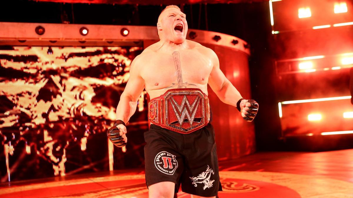 Brock Lesnar Image Courtesy WWE