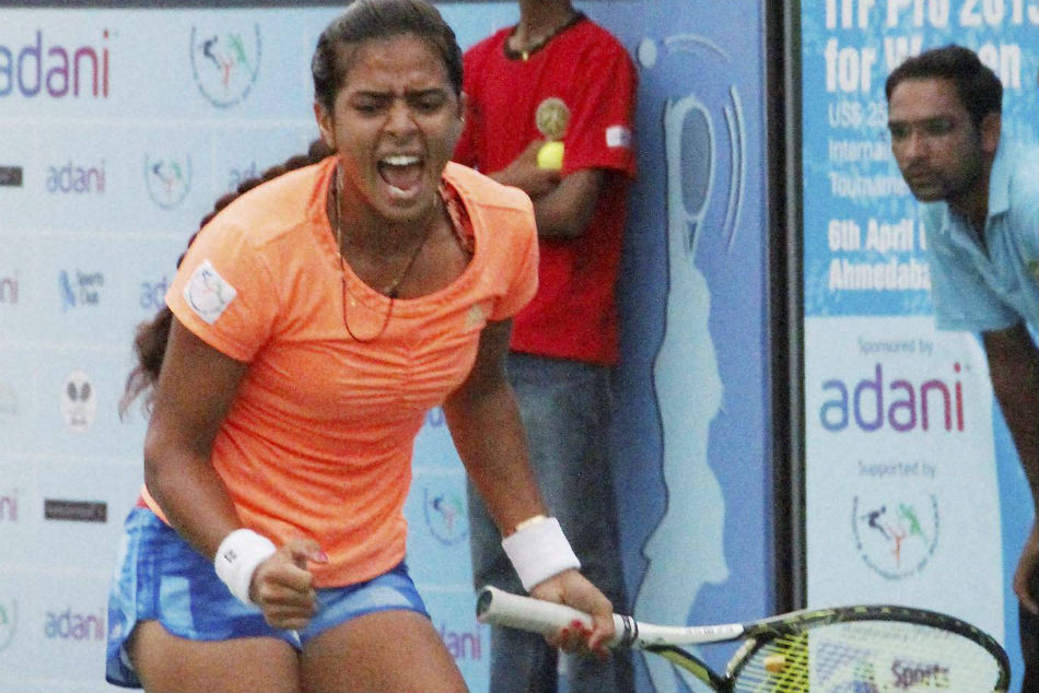 Ankita Karman Seal India S Win Over Hong Kong Fed Cup