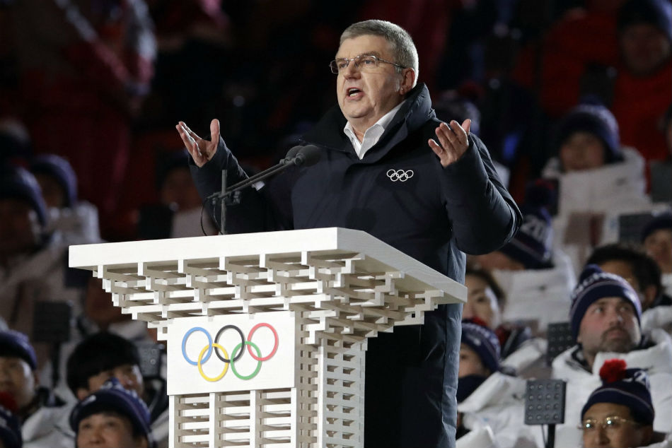 Ioc President Visit North Korea After Winter Games
