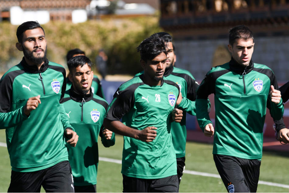 A file picture of Bengaluru FC players in training (Image: BFC Media)